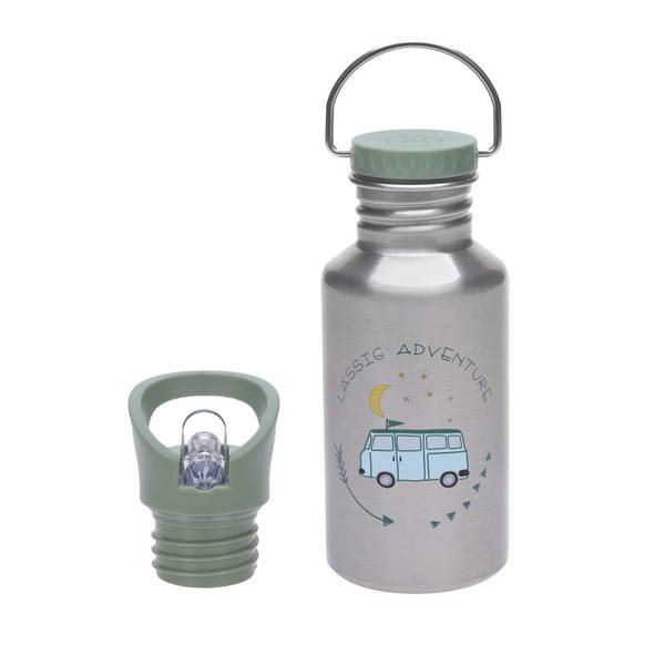 Bilde av Lässig - Drikkeflaske i rustfritt stål Buss Grønn