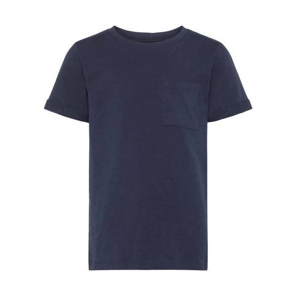 Bilde av Name It - T-skjorte Gutt Basic Dark Sapphire