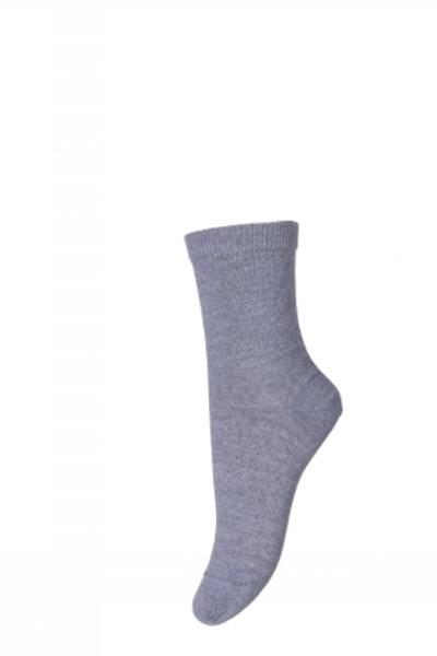 Bilde av MP - Sokker i ull/bomull Grey Marled