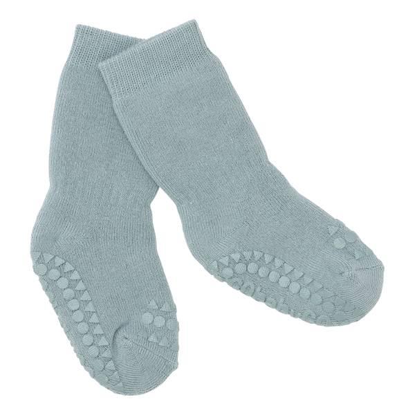Bilde av Go Baby Go - Antiskli sokker i bomull Dusty Blue