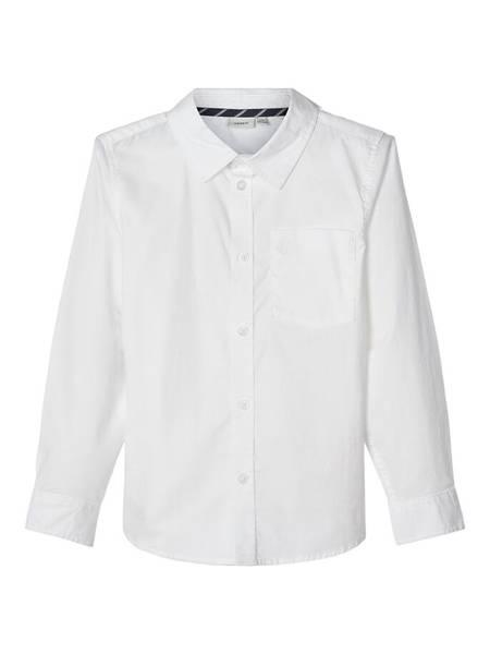 Bilde av Name it - Penskjorte Bright White