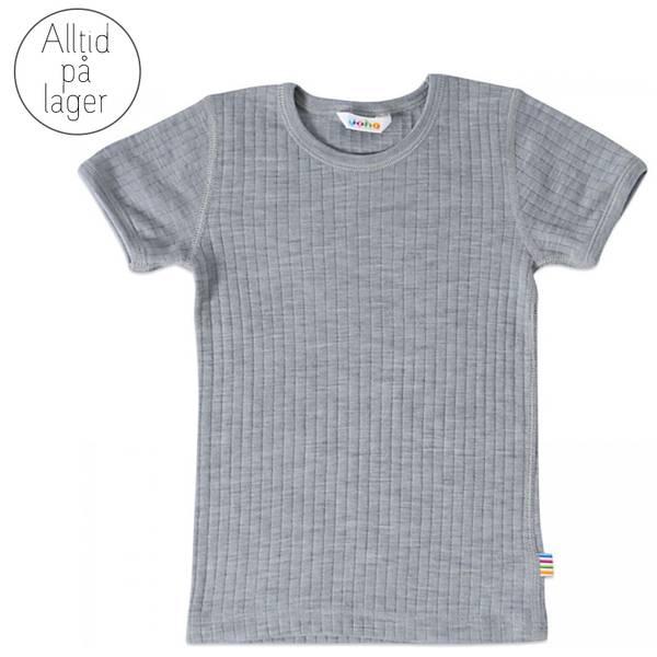 Bilde av Joha - T-skjorte i merinoull Grå