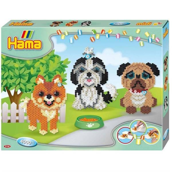 Bilde av Midi, gaveeske Hunder, Hama