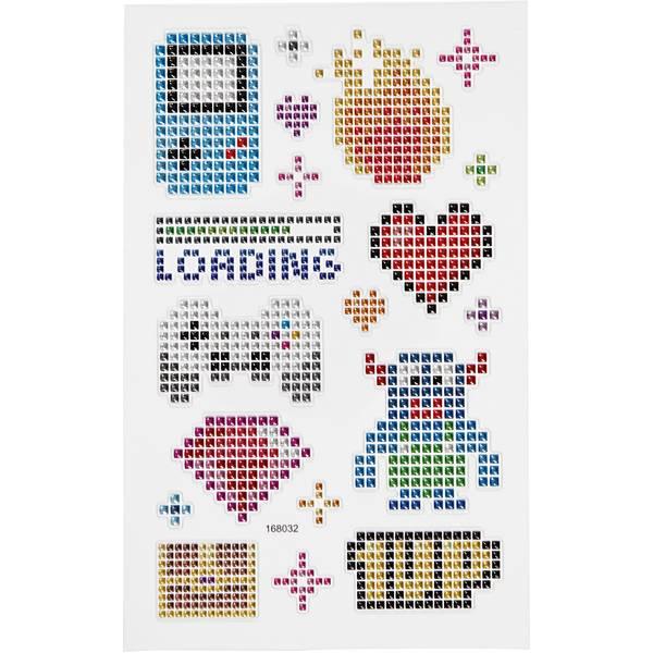 Bilde av DIAMOND Stickers Gadgets