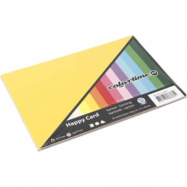 Bilde av Kartong i glade farger