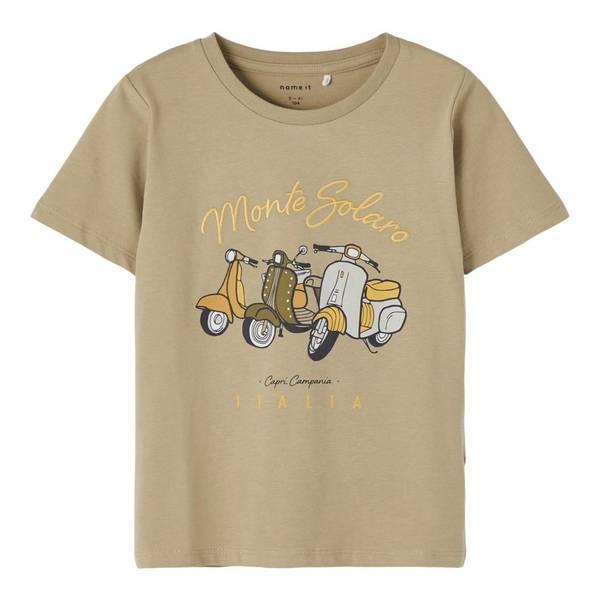 Bilde av Scooter t-skjorte, Silver
