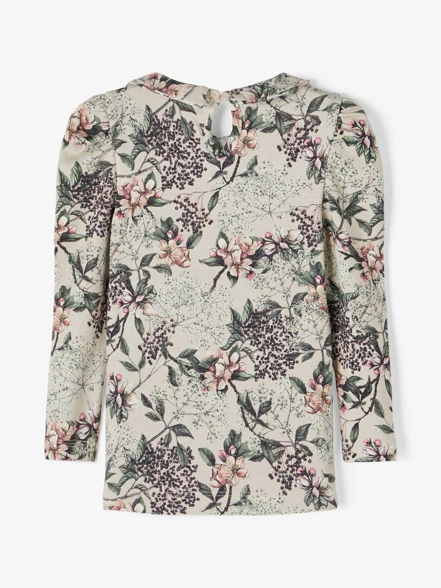 Blomstergenser med krage, whisper pink, Name it