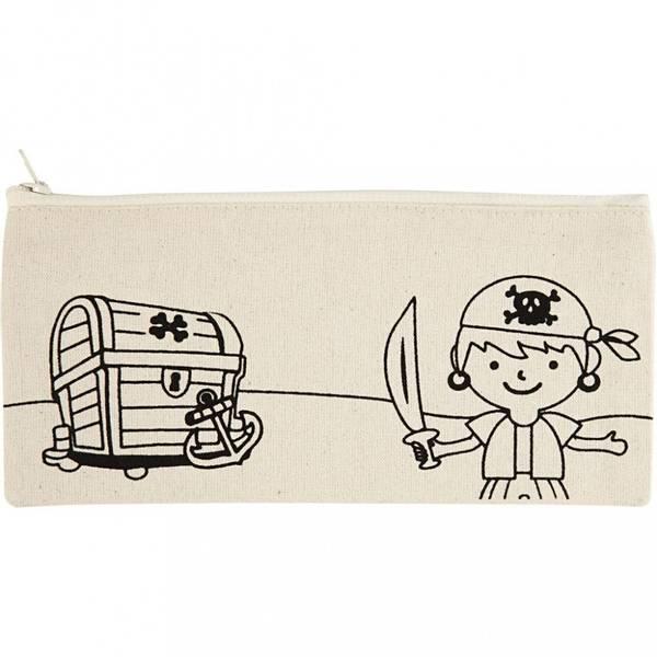 Bilde av Pennal med piratprint