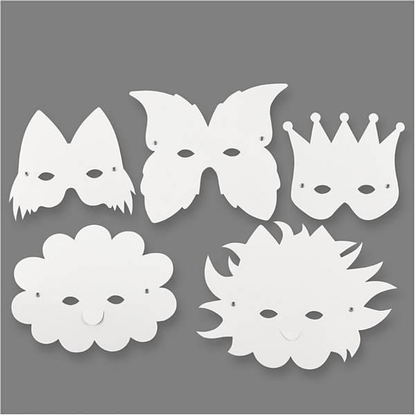 Bilde av Fantasimasker 5 forskjellige