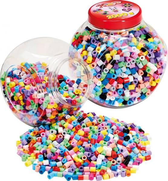 Bilde av Maxi bøtte med 2000 perler,