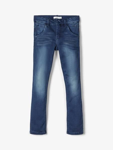 Bilde av Stretch jeans i mørk blå,
