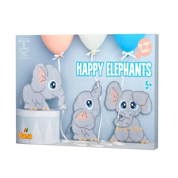 Bilde av Happy elephants av Anja