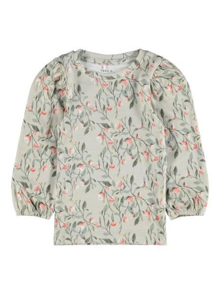 Bilde av Blomstret LS genser med