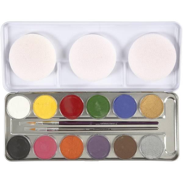 Bilde av Ansiktsmaling 12 farger
