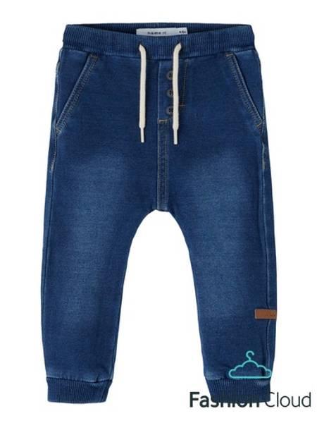 Bilde av Myk jeans med dekorknapper
