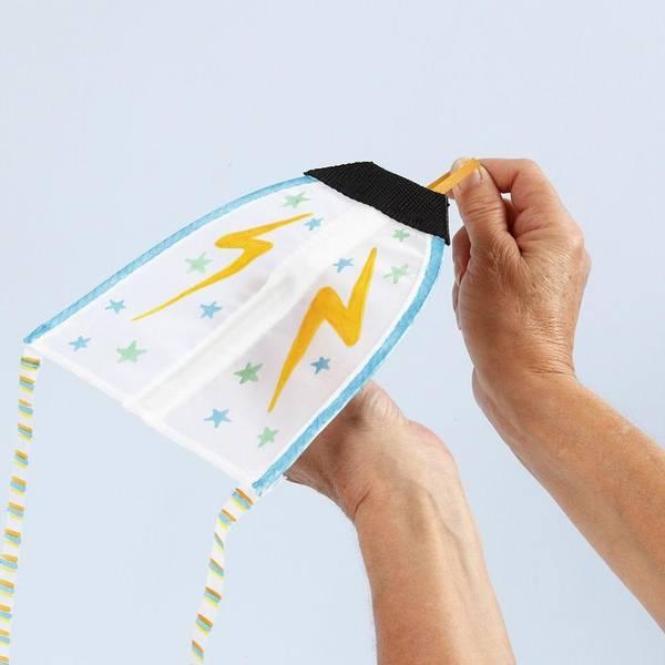 Bilde av Rakett-drage med strikk