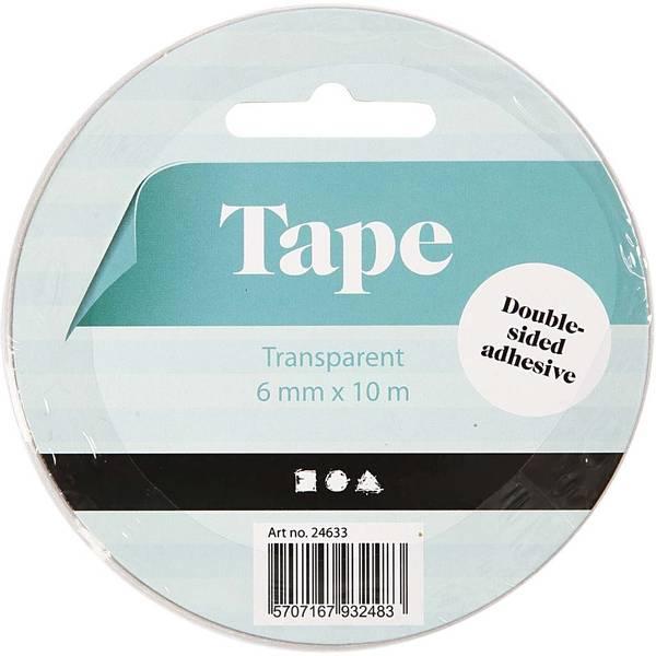 Bilde av Dobbeltsidig tape, 6 mm