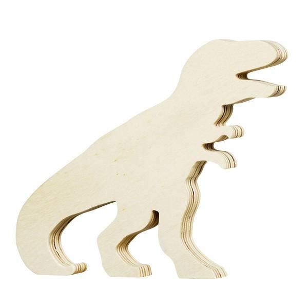 Bilde av trefigur dinosaur