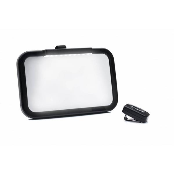 Bilde av Bilspeil med led-lys,