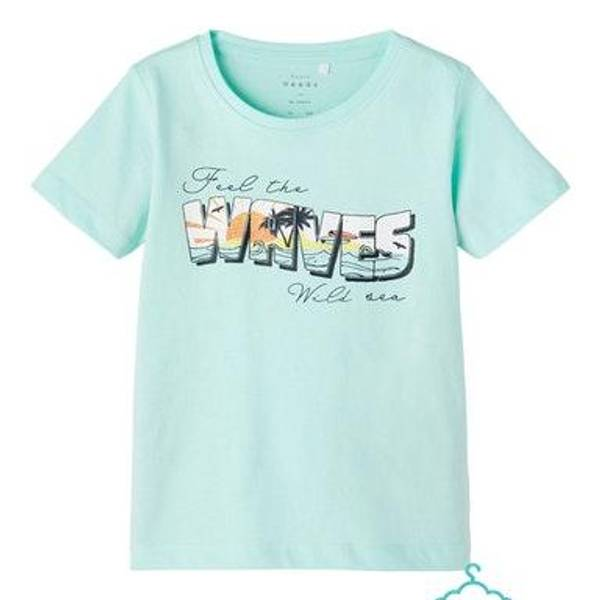 Bilde av Waves tskjorte,Blue tint,