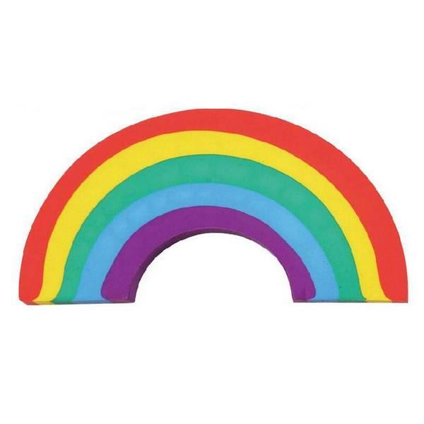 Bilde av regnbue  viskelær