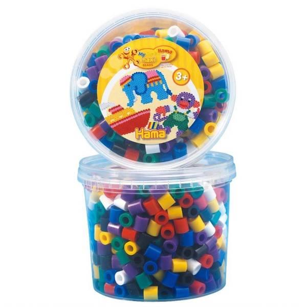 Bilde av Maxi bøtte med 600 perler,
