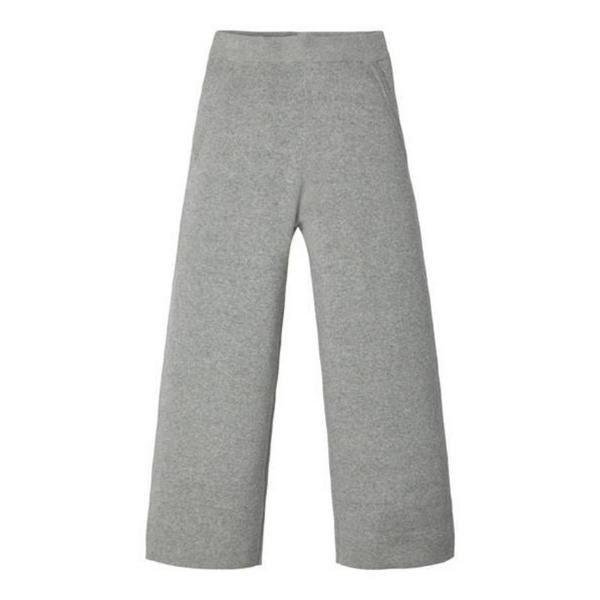 Bilde av strikket bomullsbukse, grey