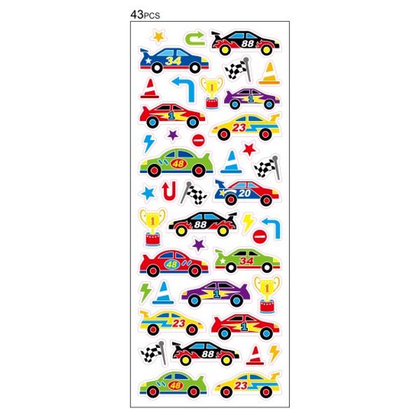 Bilde av Tinka racerbil stickers