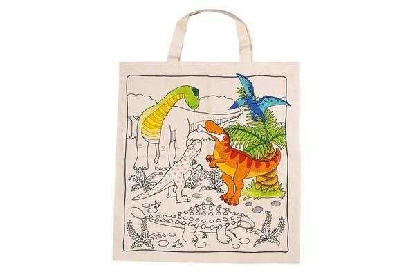 Bilde av Handlenett med dinosaur print