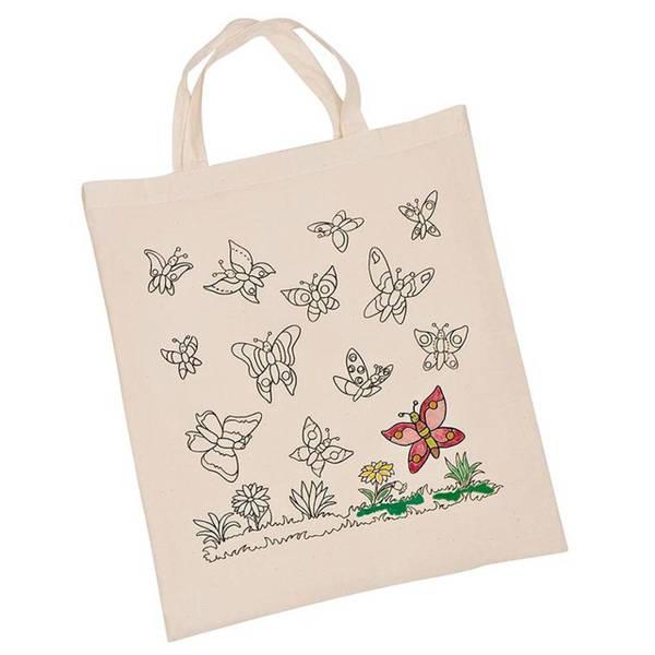Bilde av Handlenett med sommerfugl