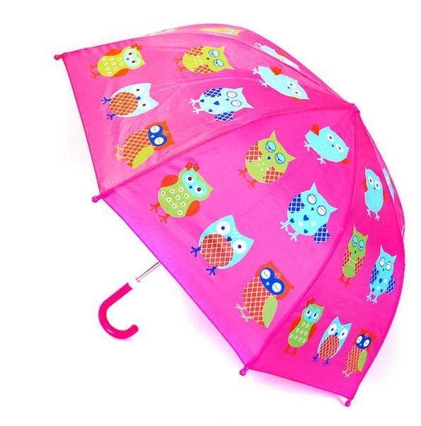 Bilde av Paraply med ugler