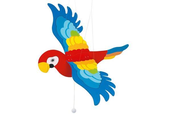 Bilde av Svingende papegøye i