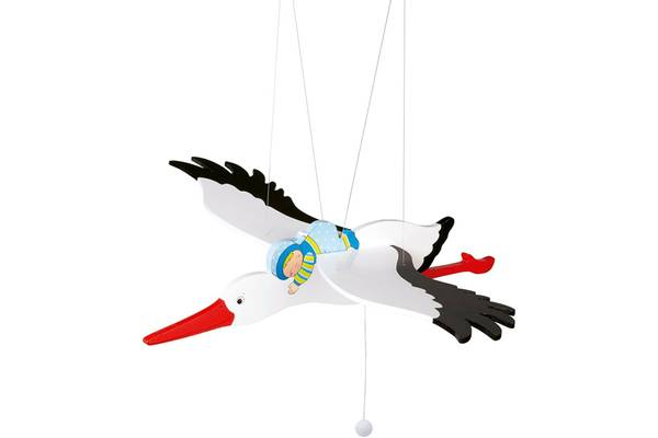 Bilde av Svingende stork i tre, goki