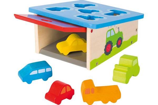 Bilde av sorteringsboks, kjøretøy i