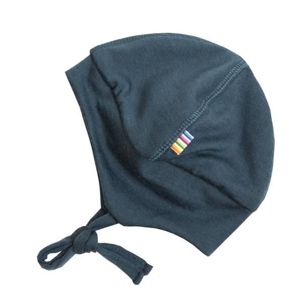 Bilde av ull hjelmlue petrolblå med