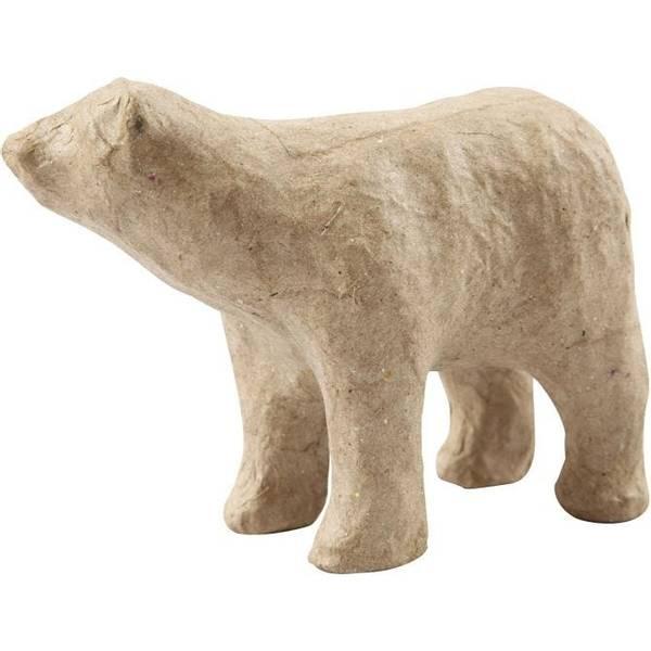 Bilde av Isbjørn  i pappmache