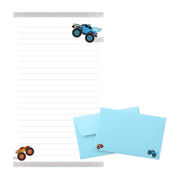 Bilde av Tinka brevpost, monstertrucks