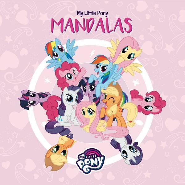 Bilde av My little pony malebok,