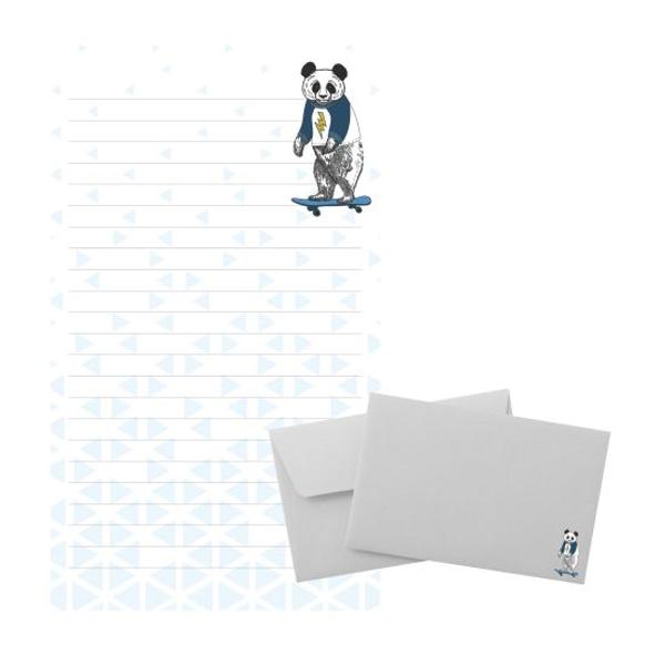 Bilde av Tinka brevpost, panda på