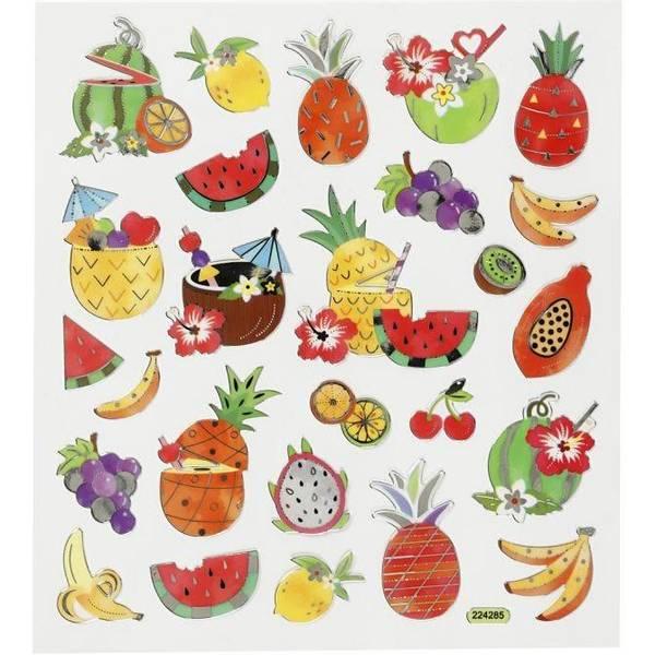Bilde av Klistremerker eksotisk frukt