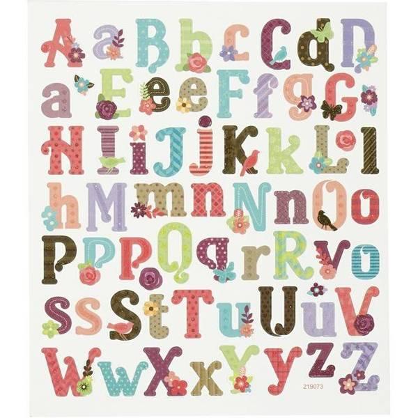 Bilde av Klistremerker bokstaver