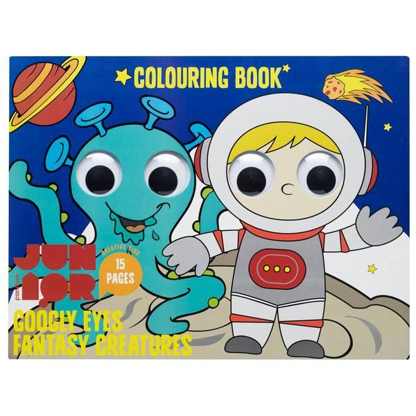 Bilde av Fargeleggingsbok Googly eyes