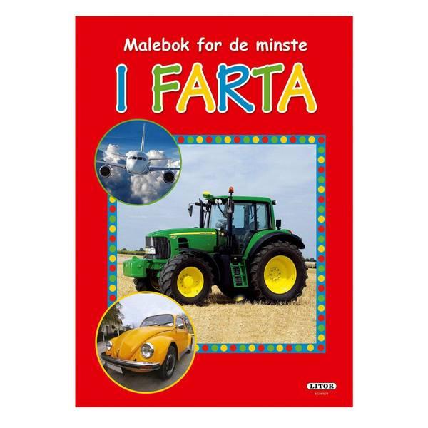 Bilde av Fargeleggingsbok i farta