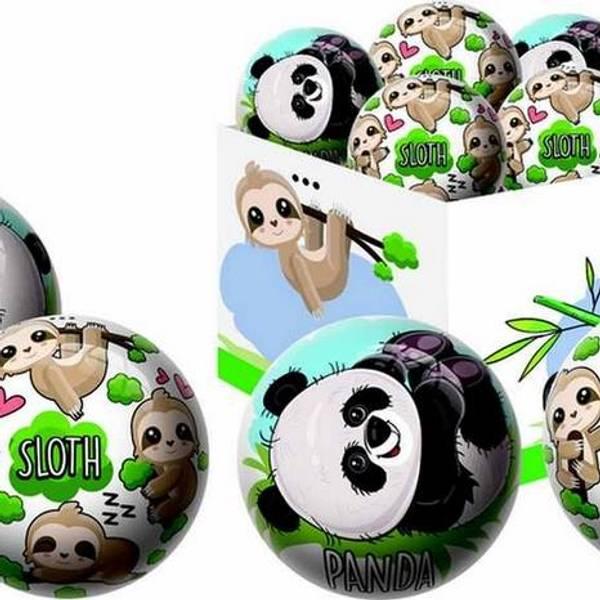 Bilde av Panda og dovendyr  ball 15cm