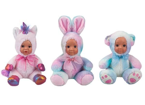 Bilde av dukke med plysj kostyme