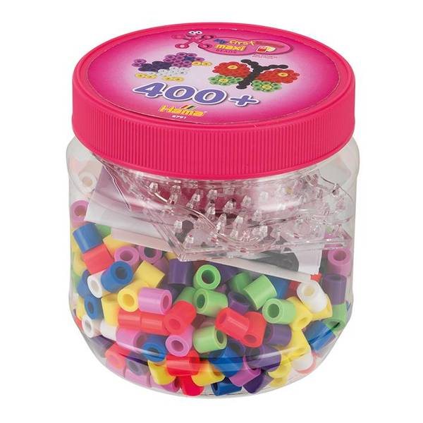 Bilde av Maxi bøtte med perler og pigg
