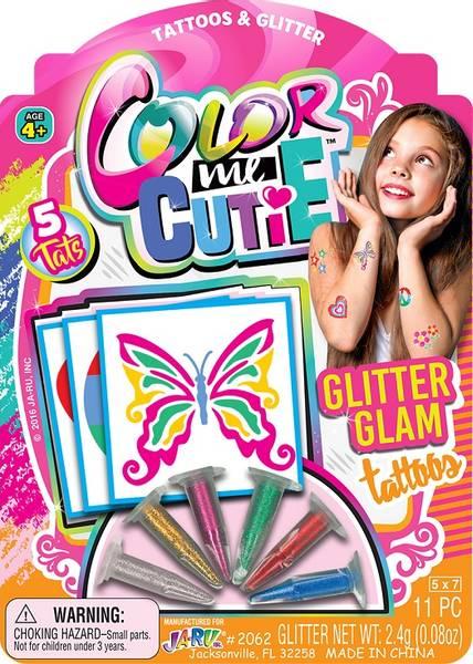 Bilde av Glitter tatovering, color me