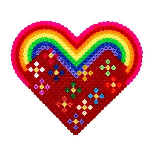 Bilde av Midi piggplate, stort hjerte,