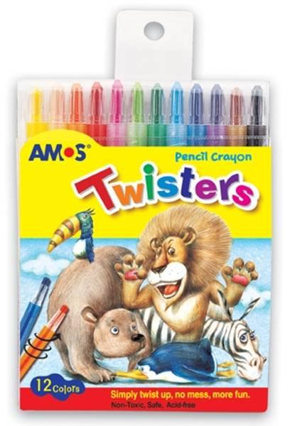 Bilde av Twisters voks blyanter, 12