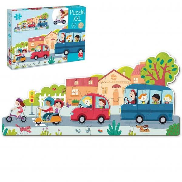 Bilde av XXl puslespill kjøretøy